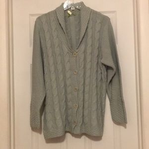 Cable knit cardigan NWT